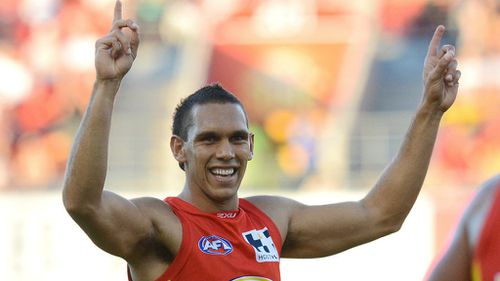Gold Coast Suns player Harley Bennell.