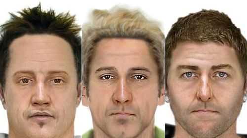 The three men wanted by police. (Victoria Police)