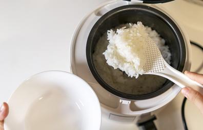 Rice cooker / steamer, stock image