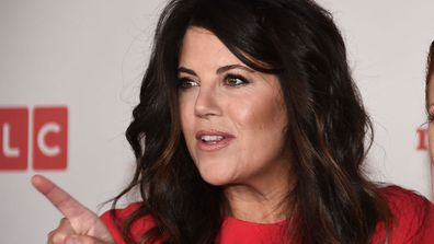 Monica Lewinsky has walked off stage at a conference in Israel
