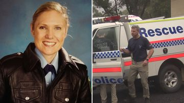 Senior Constable Kelly Foster drowned trying to save another woman while canyoning in the NSW Blue Mountains.