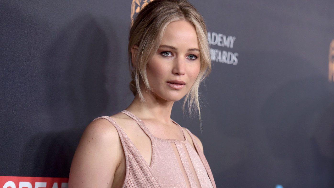 Jennifer Lawrence. (AAP)