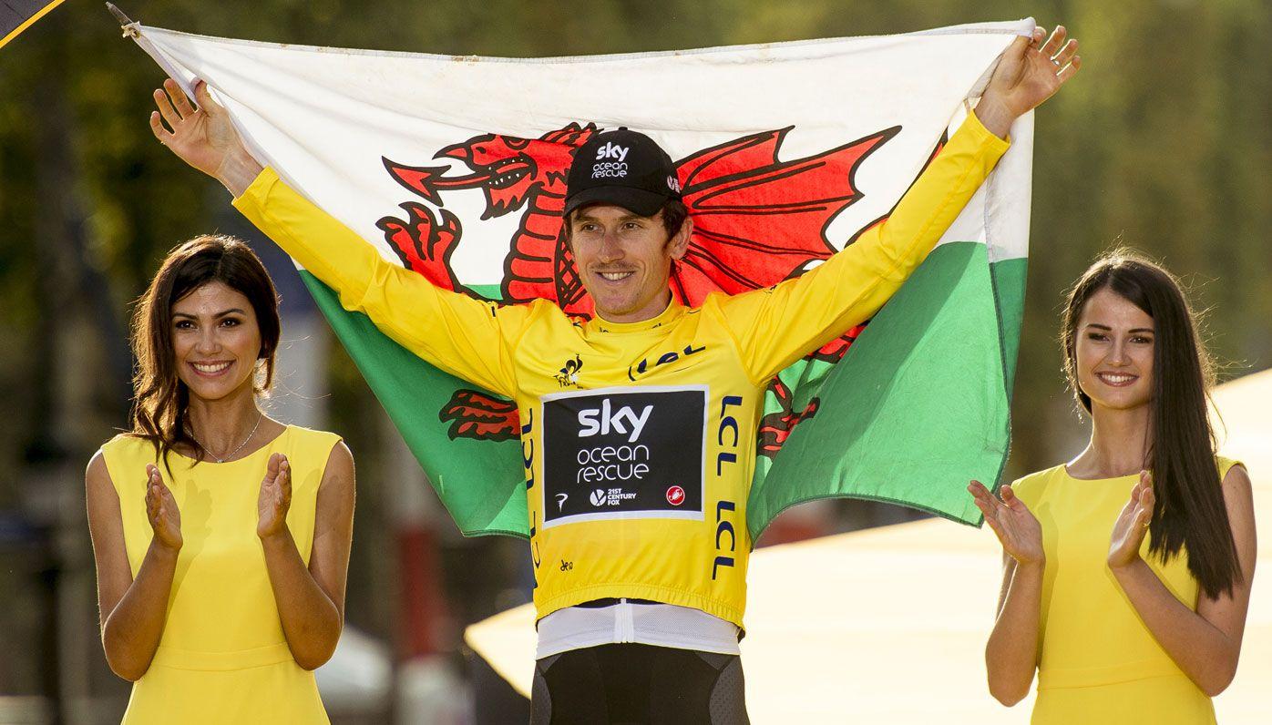 Team Sky's Geraint Thomas takes maiden Tour de France title