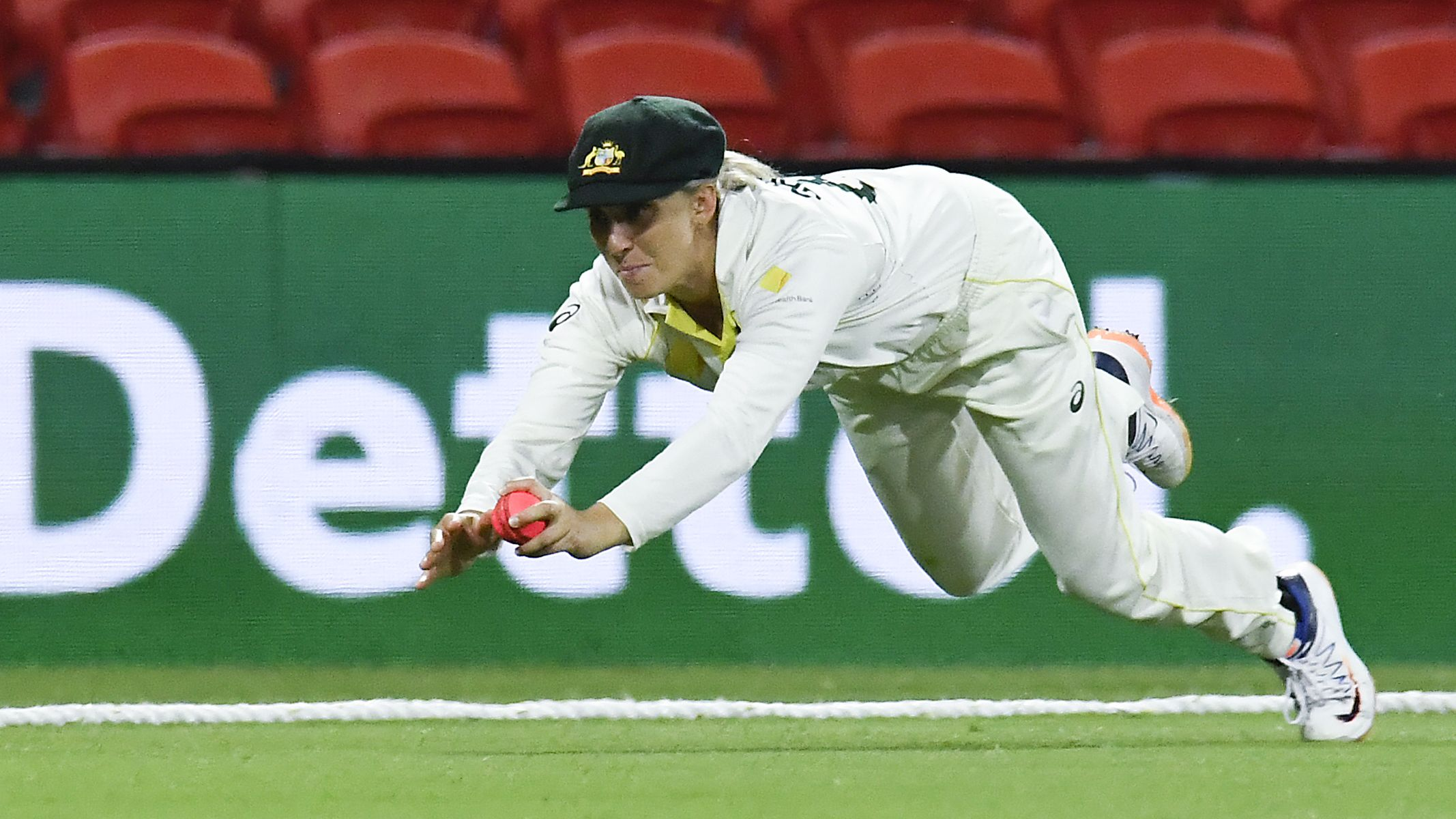 Ashleigh Gardner brilliance not enough to avoid 'frustrating' Test draw against India
