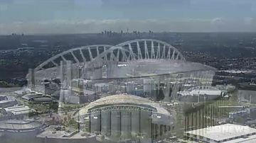 Sydney's two major stadiums to be bulldozed and rebuilt