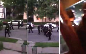 George Floyd death US protests LIVE: Riot police fire paint cannisters at Minneapolis residents; George Floyd's brother breaks down over police chief's message; White House stand-off