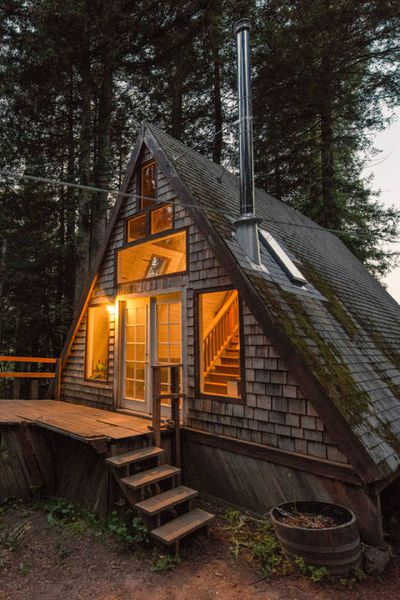 A-frame cabin in the Redwoods — Cazadero, Califorina