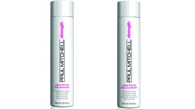 "<p>For split ends:</p><p><a href=""https://www.paulmitchell.com/"" target=""_blank"">Strength Shampoo, $23.90 (300ml) and Conditioner, $24.90 (300ml), Paul Mitchell, 1300 365 350. </a></p>"