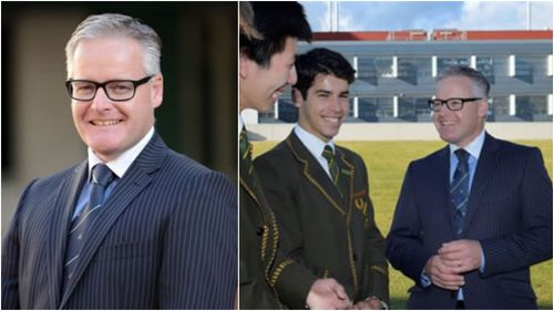 Dr Michael Davies has been the headmaster of the elite school for five years. (Images via Trinity Grammar)