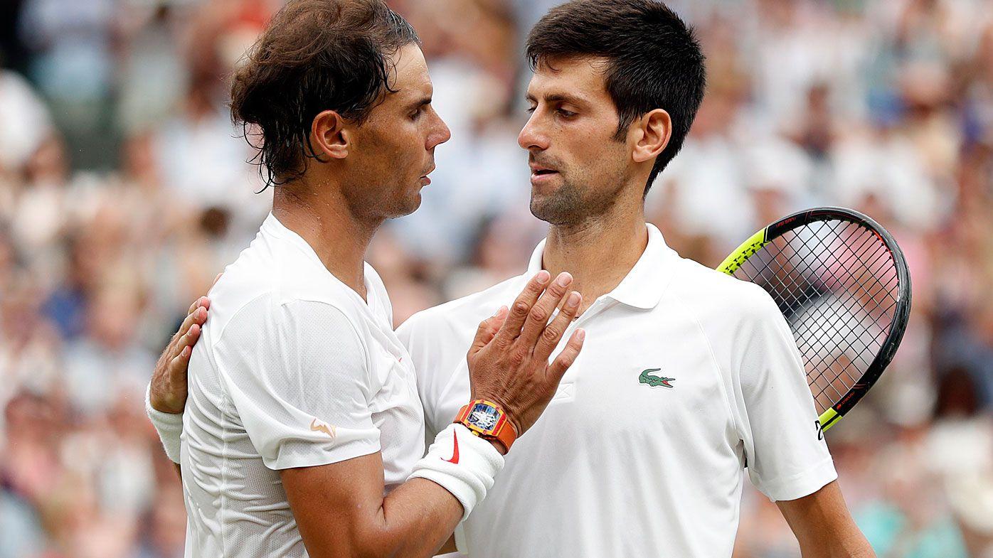 Novak Djokovic and Rafael Nadal Saudi Arabia match called off