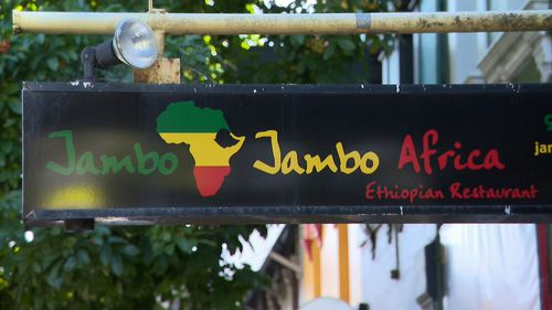 The Jambo Jambo African restaurant in Glebe has been closed for cleaning.