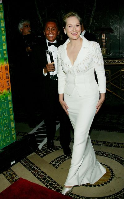 Meryl Streep with Valentino, honored at Fashion Group International's 22nd Annual 'Night Of Stars'  October 27, 2005 in New York.