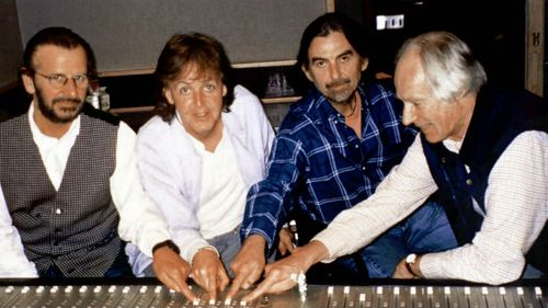 Music producer Sir George Martin, dubbed 'The Fifth Beatle', dies
