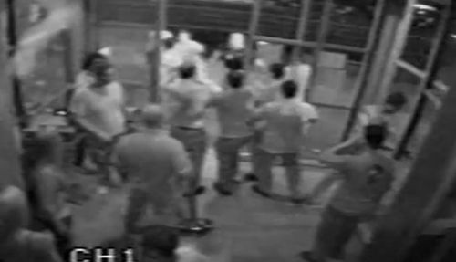 CCTV has been released showing Sam Formica's last moments.
