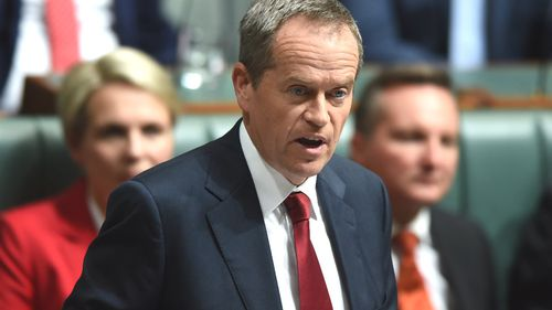 Labor leader Bill Shorten. (AAP)