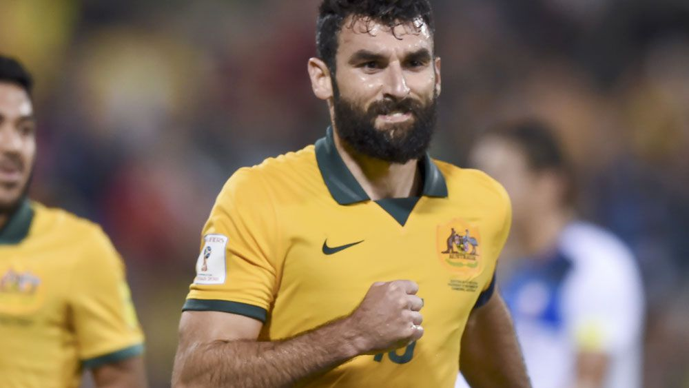 Mile Jedinak will lead a youthful looking Socceroos outfit. (AAP)