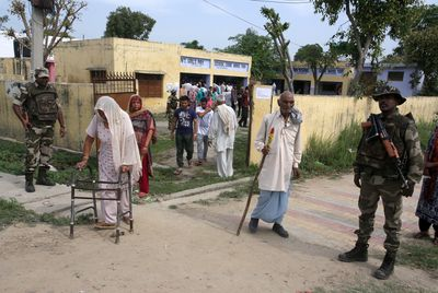 Voting by caste