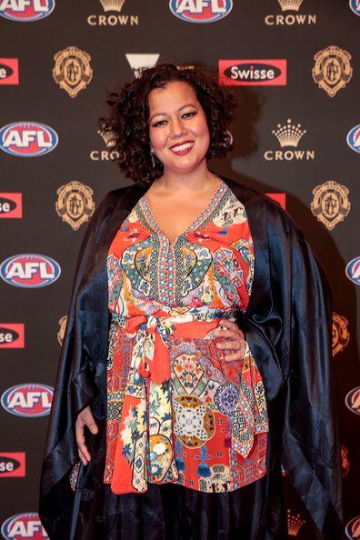 Mahalia Barnes, red carpet, awards