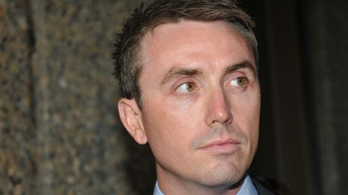 James Ashby accused Peter Slipper of sexually harassing him and obtained copies of the Speaker's diary. (AAP)