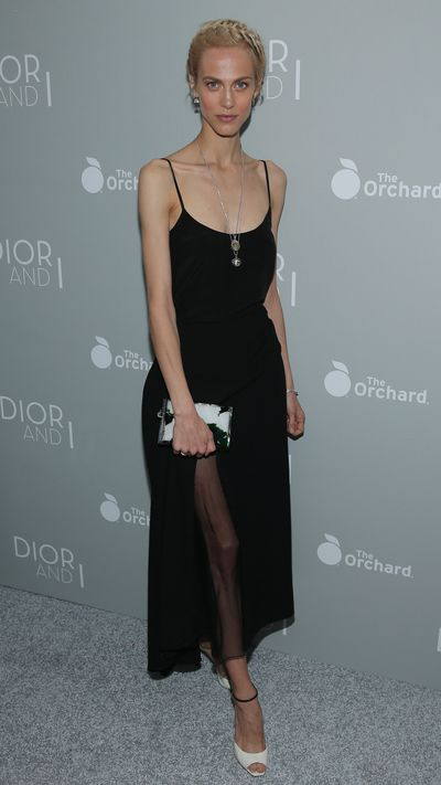 <p>At the New York screening of 'Dior And I'.</p>