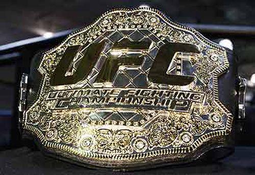 UFC championship belt (Getty)