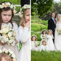 Grumpy bridesmaid steals the show in royal wedding photos
