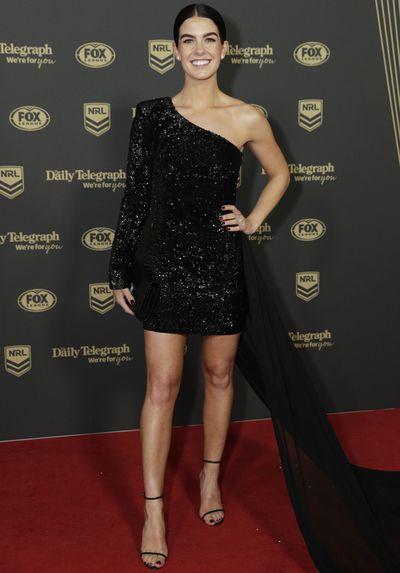 Brittney Croker at the 2019 Dally M Medal