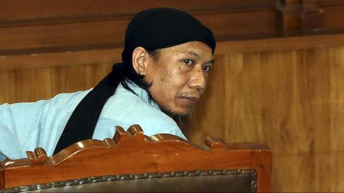Radical cleric Aman Abdurrahman has been sentenced to death in Indonesia. (AAP)