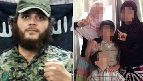 Three of Khaled Sharrouf's children are reported to be in a refugee camp in Syria.