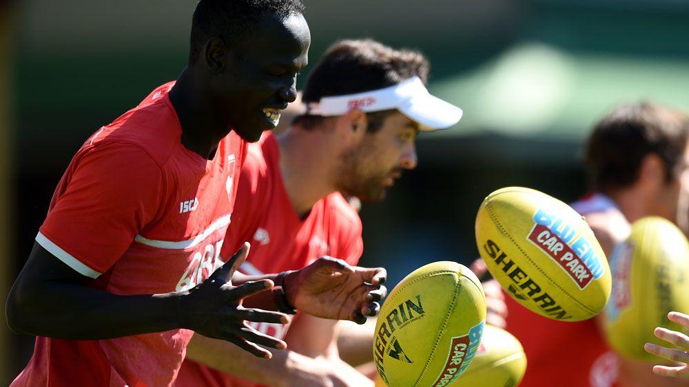 Aliir Aliir facing AFL grand final angst