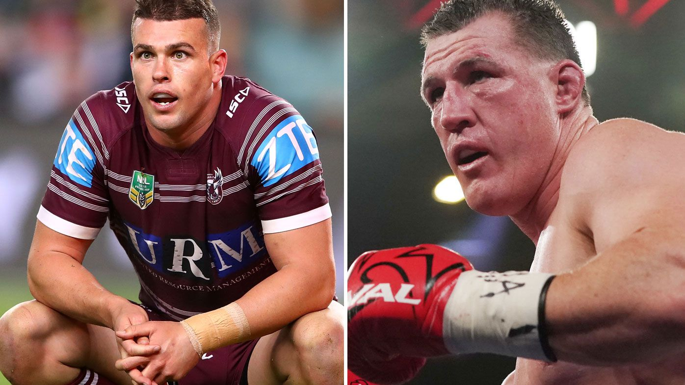 Paul Gallen is reportedly eyeing a fight with Darcy Lussick (Getty)