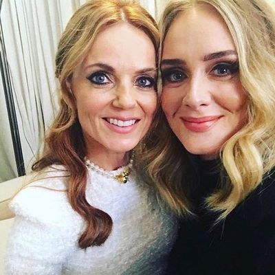 Adele and Geri Halliwell: June 2019