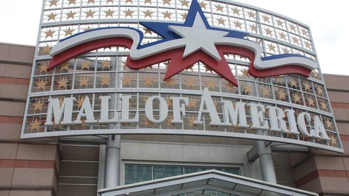 A man is accused of throwing a five-year-old off a third-floor balcony at the Mall of America.