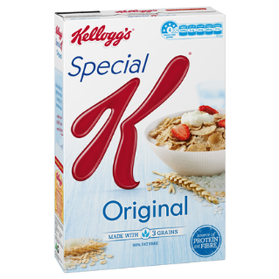<strong>Special K (14.5 grams of sugar per 100 grams)</strong>