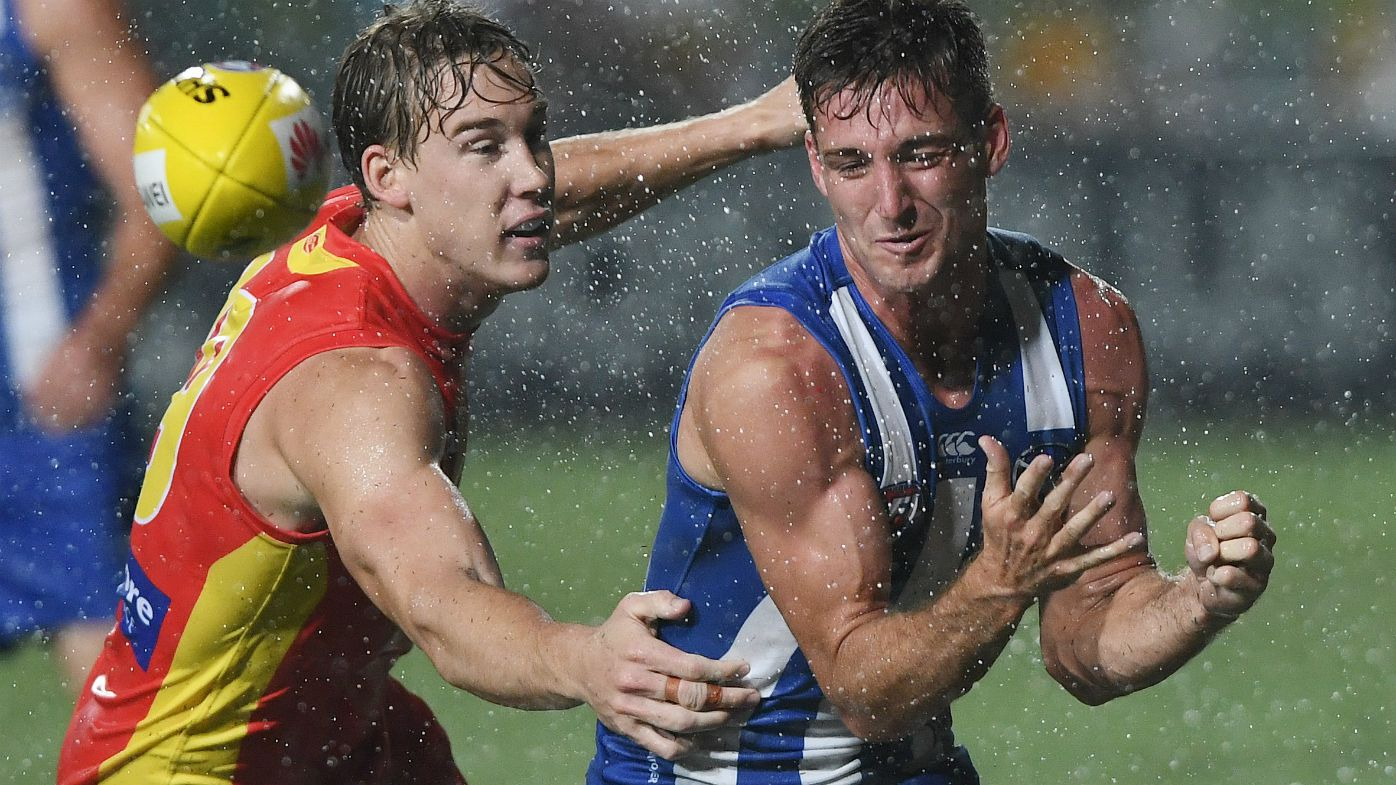 Suns' Dew opens with wet win over North