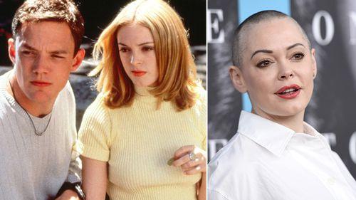 Rose McGowan starred in Weinstein's 'Scream' in 1996. (Dimension Films/AAP)