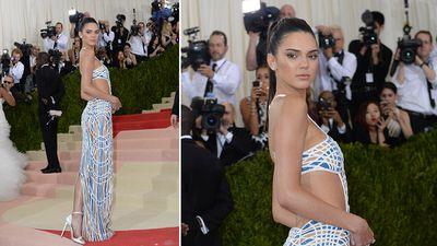 Model Kendall Jenner. (AAP)