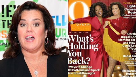 Rosie O'Donnell furious that Oprah was photoshopped thinner than her on the cover of O Magazine