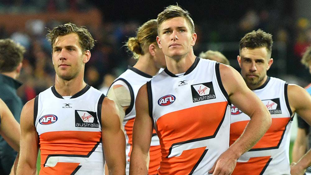 AFL Finals: GWS beaten, not broken by loss to Crows says Leon Cameron