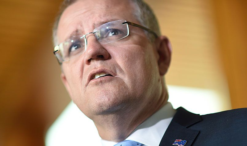 """Treasurer Scott Morrison has backed the use of """"robo-advisers"""" as a way of provide affordable superannuation advice. (AAP)"""