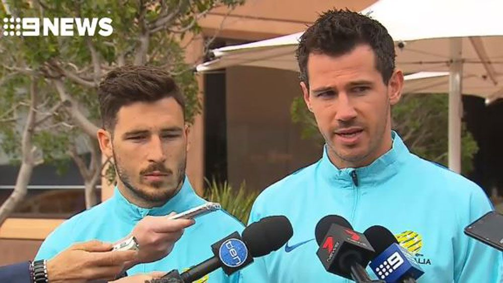 Socceroos respond to Saudi Arabian players' London bombing snub