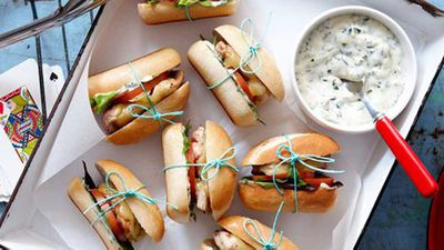 """<a href=""""http://kitchen.nine.com.au/2016/05/16/15/35/portuguese-slider-burgers"""" target=""""_top"""">Portuguese slider burgers</a> recipe"""