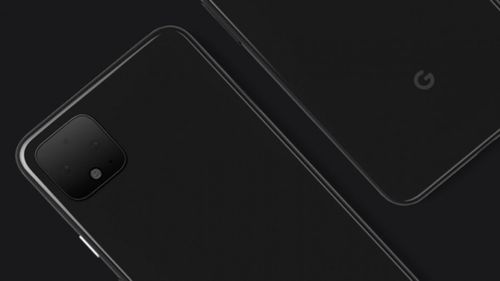 Google tweeted this image of the new Pixel 4