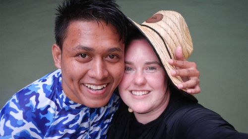 Ms Elliott and Dr Domingo had waited more than two years for his partner visa to be granted.