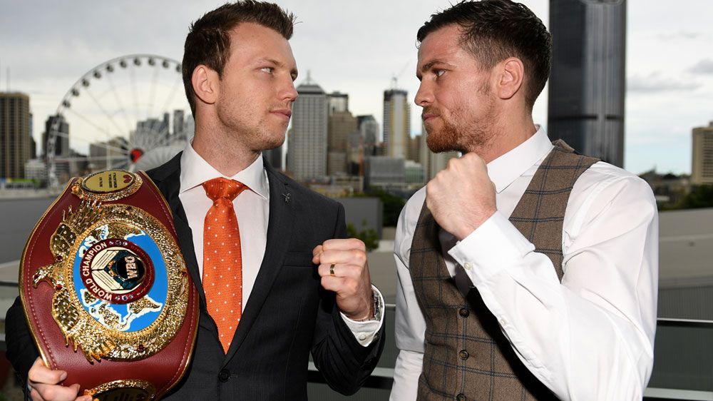 England's Gary Corcoran calls out Jeff Horn ahead of WBO welterweight title fight in Brisbane