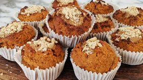 Sweet potato cupcake muffins
