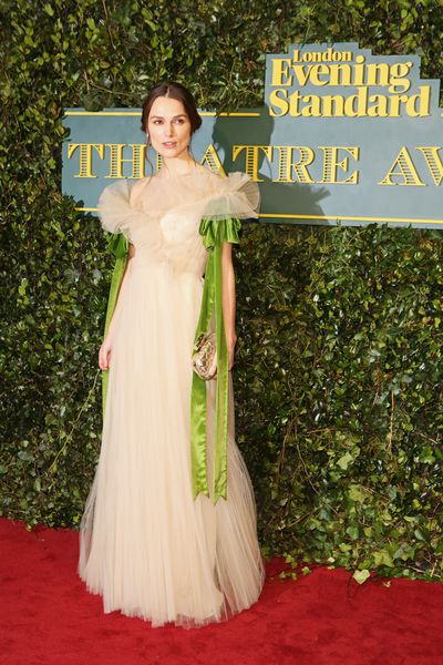 "<p>The London Evening Standard Awards are a celebration of British theatre but in the English capital on Sunday night it was the red carpet that delivered drama.</p> <p>Keira Knightley in Valentino delivered a striking sartorial update on Vivien Leigh's character Scarlett O'Hara in the cinematic classic <em>Gone With The Wind. </em></p> <p>Offering a more contemporary approach was Australian actress <a href=""https://style.nine.com.au/cate-blanchett"" target=""_blank"">Cate Blanchett</a> in floral Alexander McQueen, but the most surprising look on the night came from US Vogue editor Anna Wintour.</p> <p>The Chanel devotee's preference for colour is universally known since the groundbreaking documentary <em>The September Issue </em>but Wintour looked at ease in black and white Maison Margiela by controversial designer John Galliano.</p> <p>While the play The Ferryman took out top honours on the evening, we are still applauding the red carpet roles chosen by these leading ladies. </p> <p> </p>"