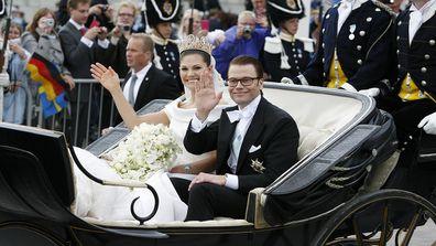 The Royal Wedding between HRH Princess Victoria and Daniel Westling In Stockholm, Sweden.