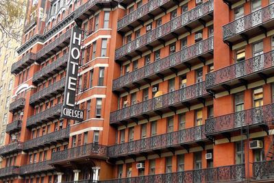<strong>Hotel Chelsea, New York City</strong>