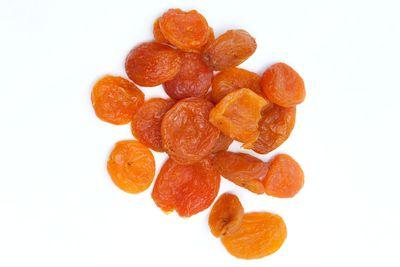 Dried apricot: 52.5g sugar per 100g